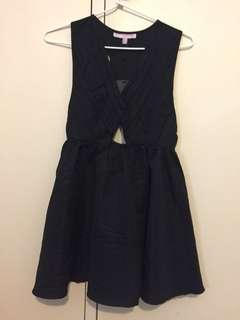 ASOS Petite black dress with tags BNWT size 6 UK / 2 US / 34 EU