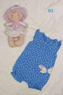 Pre-loved baby Carter's romper