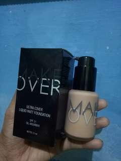 Make Over Foundation pink shade