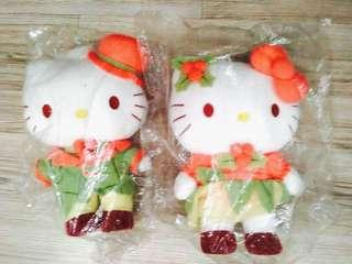 Sanrio Couple Hello Kitty Melody Little Twin Stars Plush Toys - selling all 7 in total