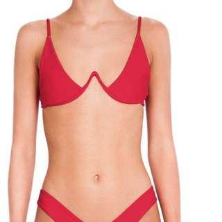 Bamba Swim Red Top Bikini