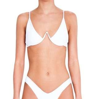 Bamba Swim White Swim Top