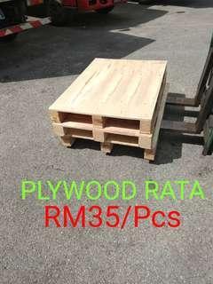 PALLET PLYWOOD RATA (120cmx80cm)