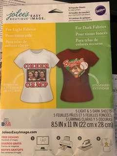 Transfer paper for clothing