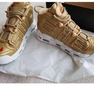 Supreme x Nike Uptempo's