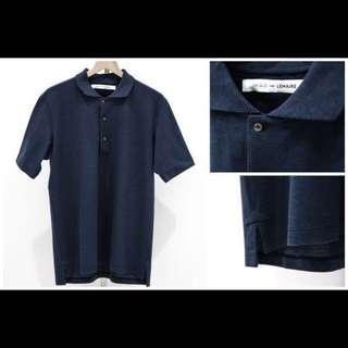 🚚 極新*Uniqlo x Lemaire 設計師聯名款Polo衫(1黑1藍)