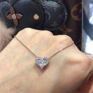 Authentic White Gold with Diamonds