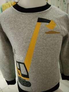 Sweater anak  cowok usia 3 tahun