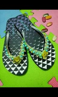 colorfull slippers