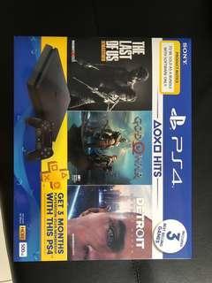PS4 Slim bundle WhatsApp me 0182555382