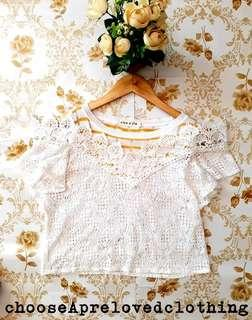 Lace Korean Bakuna Top