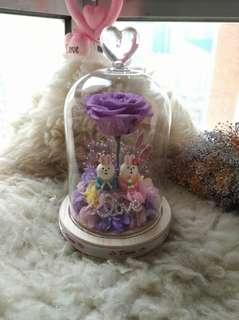 紫有您保鮮花擺設