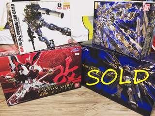 🚚 Gundam MG & PG