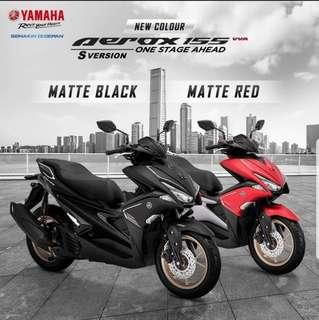 Agent unit Yamaha Aerox avilable for early march shipment.
