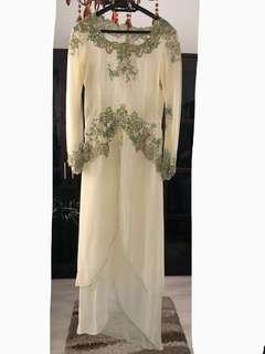 REDUCED!Wedding dress fit M tailormade in Indonesia