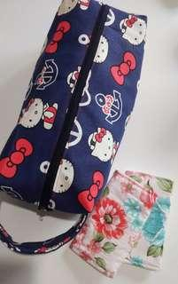 Hello Kitty AHOY OUT TO SEA Baby Carrier Bag/Shoe Bag