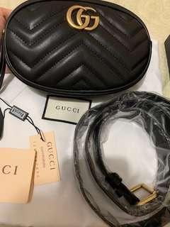 Gucci Marmont Belt Bag