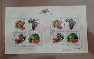 China stamps Mint full sheet (offer  1/3  - 3/3 )