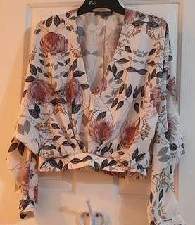 Sheike floral top Size 6