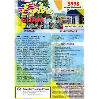 4D3N GUAM Shopping Tour
