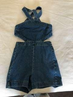 Denim ASOS playsuit