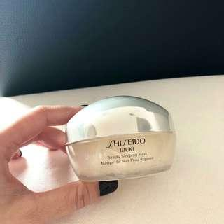 (零售價$380) Shiseido Ibuki Beauty Sleeping Mask 睡眠面膜 (80ml)