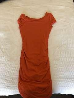 Kookai dress orange size 1