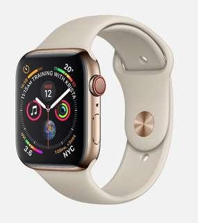 Apple Watch Series 4 - Stainless Steel Gold (44mm)