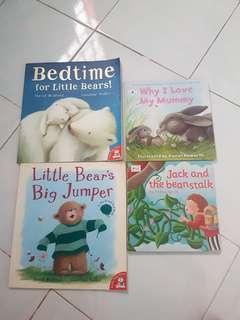 Bundle Story Books (hard & soft boards)