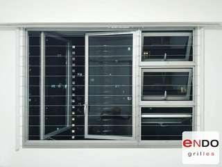 Invisible grills for HDB bto👍🏻