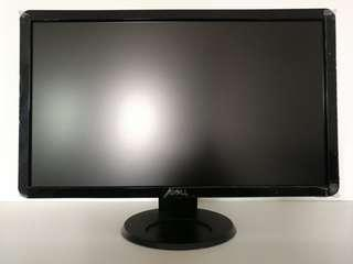 MONITOR DELL 24 INCH FULL HD 1080P LED DISPLAY LIKE NEW
