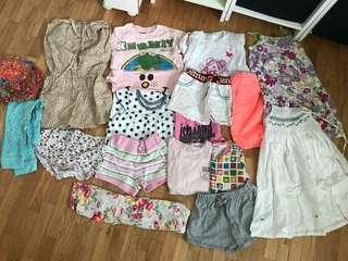 🚚 Girls clothes age 5-6 years
