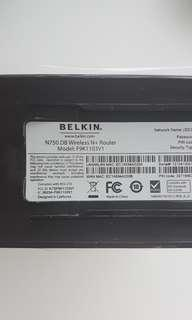 Belkin N750 DB Wireless Router (x3)