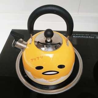 蛋黃哥不銹鋼水煲,2公升 Gudetama Stainless Steel Kettle, 2L