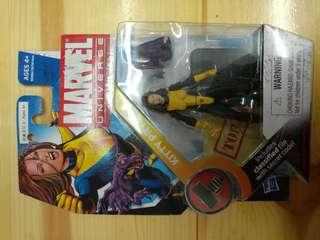 MARVEL UNIVERSE 3.75 INCHES KITTY PRYDE (not Marvel Legend, DC, Hottoys)