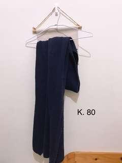 🚚 深藍質感圍巾