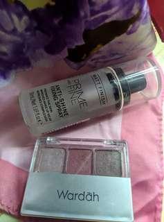 Reprice!! Take all setting spray catrice & eyeshadow wardah