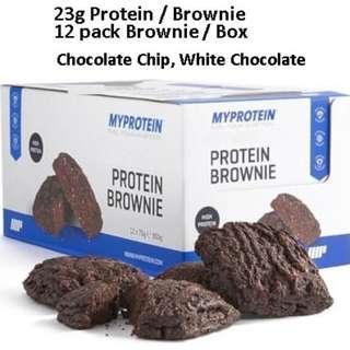 Bar & Brownie Per Pack Whey Protein Myprotein