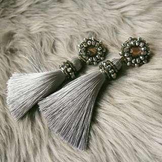 Silver Venus Earrings