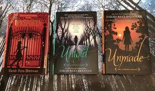 Unspoken Trilogy [Hardcover] by Sarah Rees Brennan