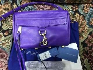 🚚 REBECCA MINKOFF mini Mac 紫羅蘭色  近全新