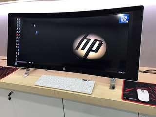 Hp Envy Curver 34-inch All in One