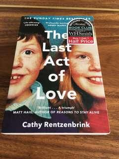 The Last Act of Love-Cathy Rentzenbrink