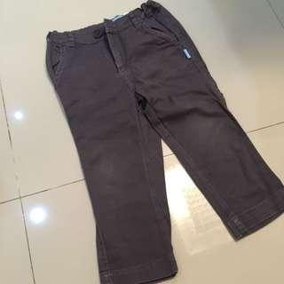 Celana jeans abu tua sz 4th