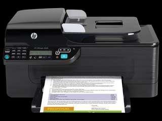 HP Officejet 4500列印傳真掃描多功能事務機  購於燦坤 免費送 需要請自取