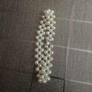 仿珍珠手環*手鏈*手鍊