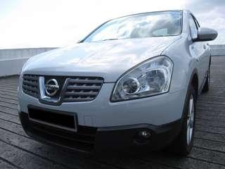 Nissan Qashqai for rent