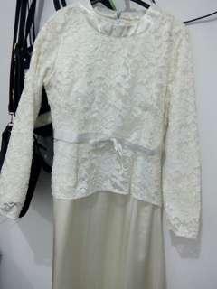 #maudompet White Dress