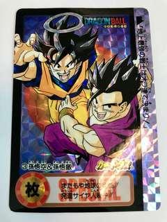 龍珠閃卡龍珠閃卡 Weekly Jump Limited 6000「A」90% 卡左上方有一小撞角