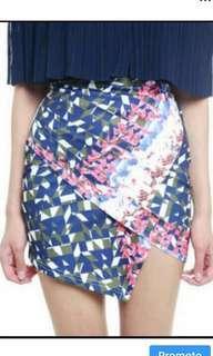 MDS shattered mini skirt